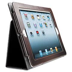 Folio Case/Stand for iPad 2, iPad 3rd Gen, Brown KMW39511