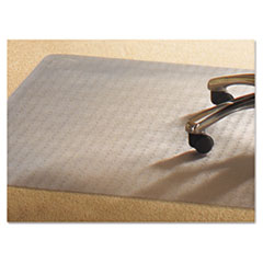 Mammoth Office Products PVC Chair Mat for Standard Pile Carpet, 46 x 60, No Lip, Clear at Sears.com