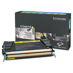 X746A1YG Toner, 7000 Page-Yield, Yellow