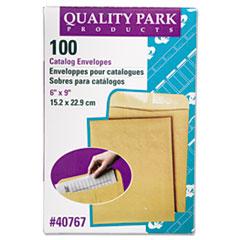 Catalog Envelope, 6 x 9, Brown Kraft, 100/Box