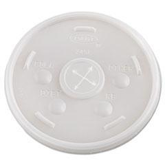 Plastic Cold Cup Lids, 24oz, Translucent, 500/Carton DCC24SL05