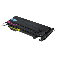 CLTP407C Toner, Black, Cyan, Magenta, Yellow, 4/Box