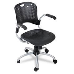 Circulation Series Task Chair, Black, 25 x 23-3/4 x 37-3/4 BLT34552