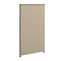 Versé Office Panel, 24w x 42h, Gray