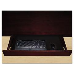 Luminary Series Wood Veneer Center Drawer, 23w x 16d x 2h, Cherry MLNCD1C