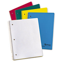 Earthwise 100% Recycled Single Subject Notebooks, 11 x 8 1/2, WE, 3 Hole, 80 SH