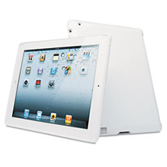 Protective Back Cover for iPad 2/3rd Gen, White