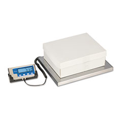 LPS400 Portable Shipping Scale, 400lb Capacity, 12 x 15 Platform