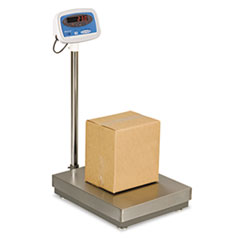 300lb Capacity Bench/Floor Scale, 22 x 18 Platform
