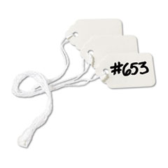 Medium-Weight White Marking Tags, 1 1/2 x 15/16, 1,000/Box