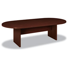 BL Laminate Series Oval Conference Table, 96w x 44d x 29-1/2h, Mahogany