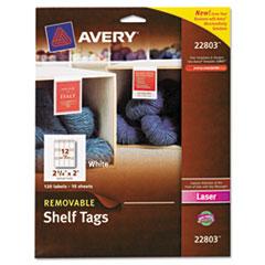 Avery Shelf Tags