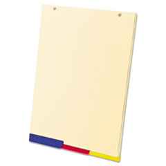 SimpleSort Crossover Divider Pad Refill, 8 1/2 x 12 1/4, Asst, 80 Sheets, 3/Pack TOP20329