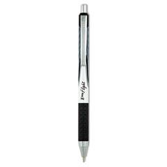 Z-Grip Flight Retractable Ballpoint Pen, 1.2 mm, Bold, Black, Dozen