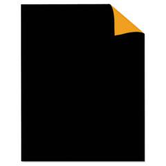 Two Cool Poster Board, 22 x 28, Black/Orange, 25/PK