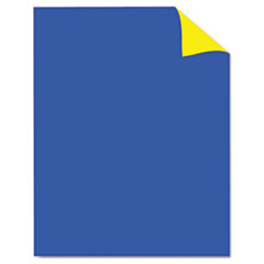 Two Cool Poster Board, 22 x 28, Blue/Yellow, 25/PK
