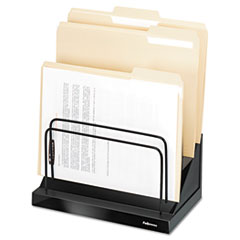 "Step File, Six 1"" Sections, 11 1/0 x 7 1/10 x 10 1/2, Black Pearl"
