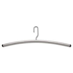 Impromptu Garment Rack Hangers, Steel, Gray, 12/Pack