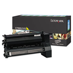 C782U1YG Extra High-Yield Toner, 16500 Page-Yield, Yellow