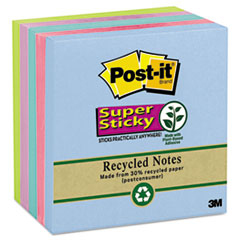 Post-it® Super Sticky Recycled Notes