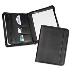 COU ** Professional Zippered Pad Holder, Pockets/Slots, Writing Pad, Black at Sears.com
