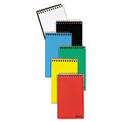 Wirebound Pocket Memo Book, Narrow, 3 x 5, White, 60 Sheets, 3 Pads/Pack TOP45093