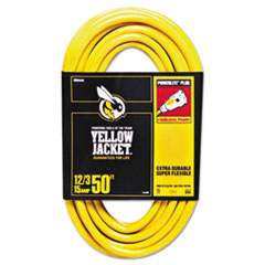 Yellow Jacket Power Cord, 12/3 AWG, 50ft