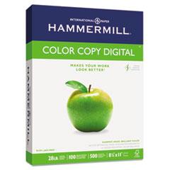 Copy Paper, 100 Brightness, 28lb, 8 1/2 x 11, Photo White, 500/Ream HAM102467