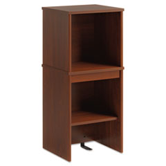 Envoy Series Narrow Hutch, 16w x 14-1/4d x 36-1/4h, Hansen Cherry