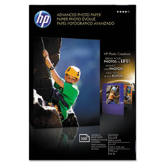 Advanced Photo Paper, 56 lbs., Glossy, 4 x 6, 100 Sheets/Pack