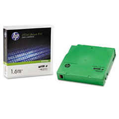 "1/2"" Ultrium LTO-4 Cartridge, 2600ft, 800GB Native/1.6TB Compressed Capacity"