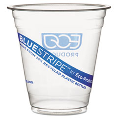 COU ** BlueStripe Recycled Content Clear Plastic Cold Drink Cups, 9 oz., Clea at Sears.com