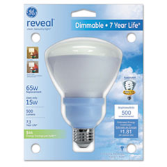 Compact Fluorescent Bulb, Reflector, Reveal