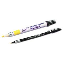 Feltip Paint Marker, White, Medium