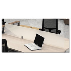 e5 Series Above-Surface Privacy Panel, 54w x 12h, Green Crystal Ice MLNEZAPP54