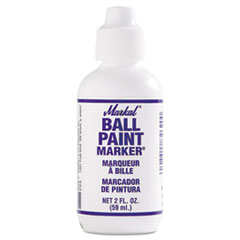 Ball Paint Marker, White