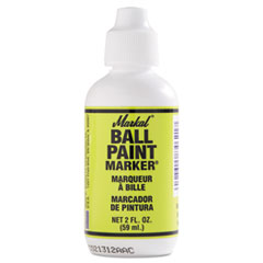 Ball Paint Marker, Yellow