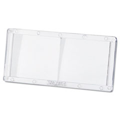"""Magnifier Lens, 2"""" x 4 1/4"""", Polycarbonate, 1.0 Diopter"""