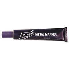 """Metal Marker, 5/64"""", Regular White, Ballpoint"""