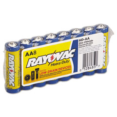 Heavy-Duty Shrink Pack Battery, AA