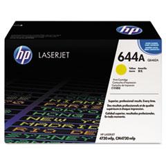 HP 644A, (Q6462A) Yellow Original LaserJet Toner Cartridge