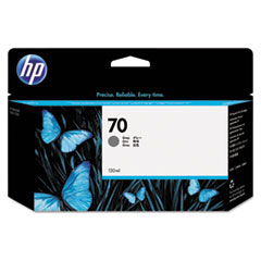 HP 70, (C9450A) Gray Original Ink Cartridge