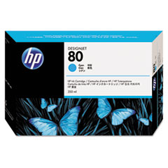 HP 80, (C4846A) Cyan Original Ink Cartridge
