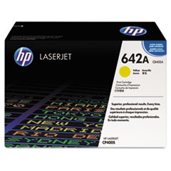 HP 642A, (CB402A) Yellow Original LaserJet Toner Cartridge