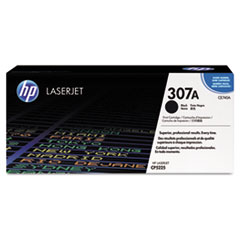 HP 307A, (CE740A) Black Original LaserJet Toner Cartridge