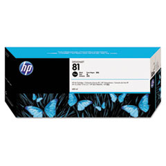 HP 81 (C4930A) Black Original Ink Cartridge