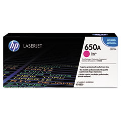 HP 650A, (CE273A) Magenta Original LaserJet Toner Cartridge