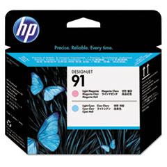 HP 91, (C9462A) Light Magenta/Light Cyan Printhead