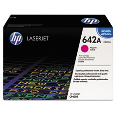 HP 642A, (CB403A) Magenta Original LaserJet Toner Cartridge
