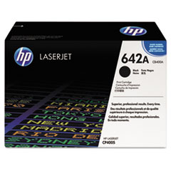 HP 642A, (CB400A) Black Original LaserJet Toner Cartridge